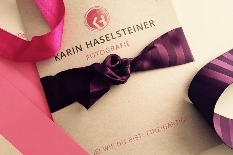 News - Neues Logo Fotografie Karin Haselsteiner